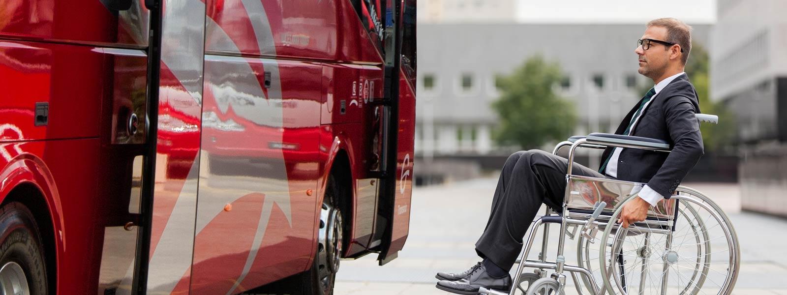 servicio autobus sin barreras