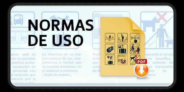 Normas de Uso para Viajeros